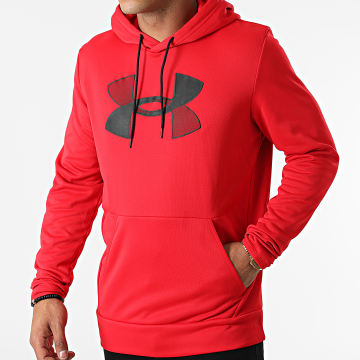 Under Armour - Sweat Capuche 1357085 Rouge