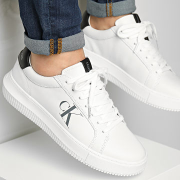 Calvin Klein - Baskets Chunky Cupsole Lace Up 0290 Bright White