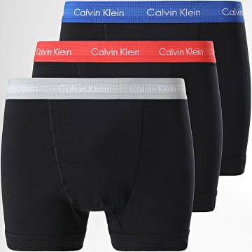 Calvin Klein - Lot De 3 Boxers U2662G Noir