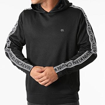 Calvin Klein - Sweat Capuche A Bandes GMF1J400 Noir