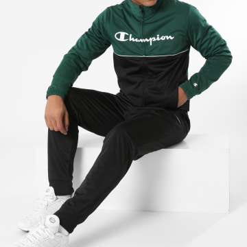 Champion - Ensemble De Survêtement 216638 Vert Noir