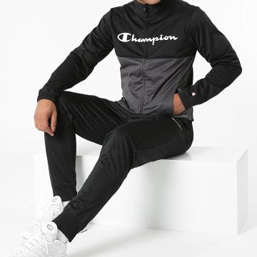 Champion - Ensemble De Survêtement 216638 Noir Gris Anthracite