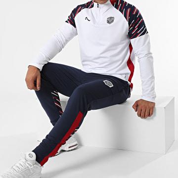La Piraterie - Ensemble De Survêtement Athletic Blanc Bleu Marine