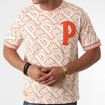 La Piraterie - Tee Shirt London Beige Orange