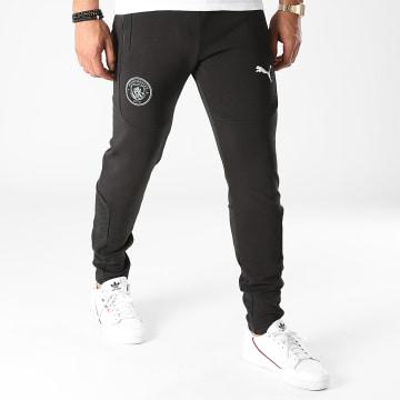 Puma - Pantalon Jogging Manchester City Casuals 764495 Noir