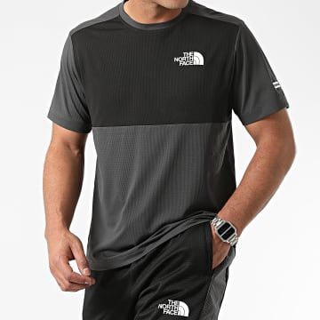 The North Face - Tee Shirt A5IBY Gris Anthracite Noir