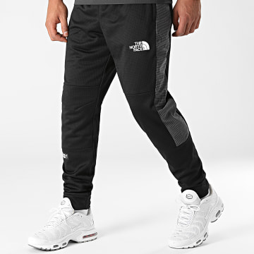 The North Face - Pantalon Jogging A Bandes A5IBZ Noir Gris