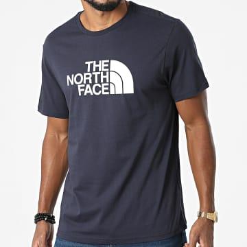 The North Face - Tee Shirt Easy A2TX3 Bleu Marine
