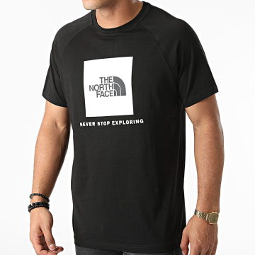 The North Face - Tee Shirt Rag Red Box A3BQ0 Noir