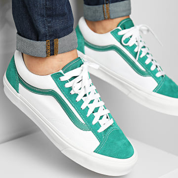 Vans - Baskets Style 36 54F69YG Classic Cardamome Green True White