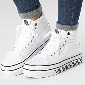 Vans - Baskets Femme Super Comfycush 5DXYIP2 True White Black