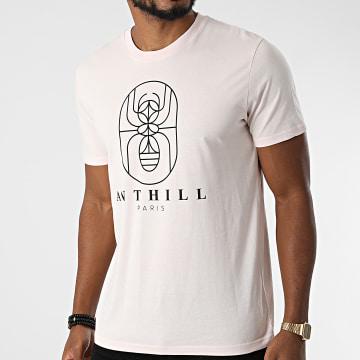 Anthill - Tee Shirt Outline Rose Pastel Noir