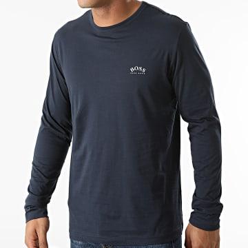 BOSS - Tee Shirt Manches Longues 50436179 Bleu Marine