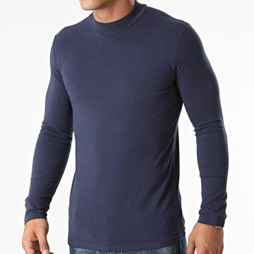 Frilivin - Tee Shirt Manches Longues BM1311 Bleu Marine