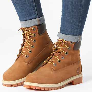 Timberland - Boots Femme 6 Inch Premium Waterproof 14949 Rust Nubuck