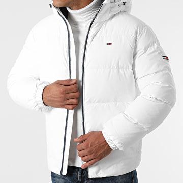 Tommy Jeans - Doudoune Capuche Essential Down 2171 Blanc