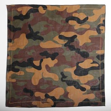 Urban Classics - Bandan 11006 Camouflage Vert Kaki