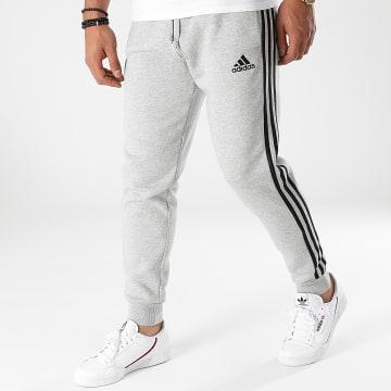 Adidas Performance - Pantalon Jogging A Bandes GM1091 Gris Chiné