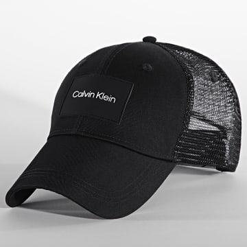 Calvin Klein - Casquette Trucker Patch 7491 Noir