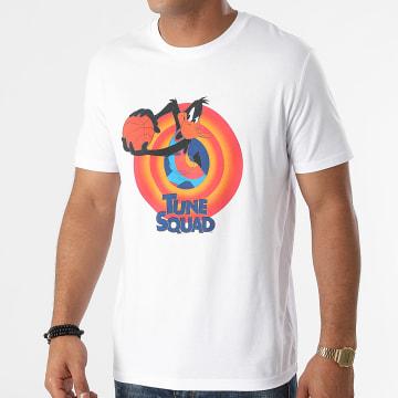 Looney Tunes - Tee Shirt Squad Daffy Blanc