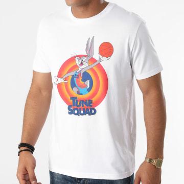 Looney Tunes - Tee Shirt Squad Bugs Blanc