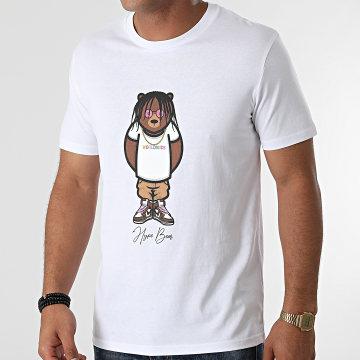 Luxury Lovers - Tee Shirt Hype Bear Worldwide Blanc