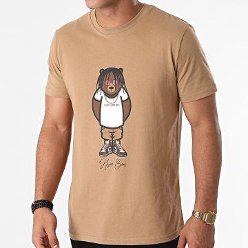 Luxury Lovers - Tee Shirt Hype Bear Worldwide Camel