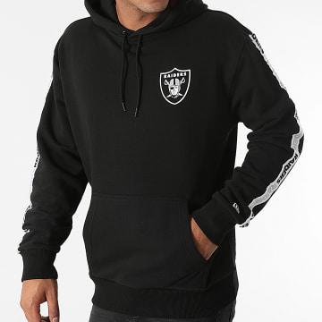 New Era - Sweat Capuche A Bandes Las Vegas Raiders 12827124 Noir