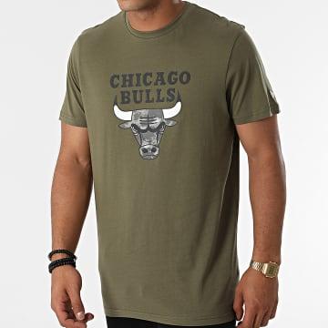 New Era - Tee Shirt Chicago Bulls 12827165 Vert Kaki