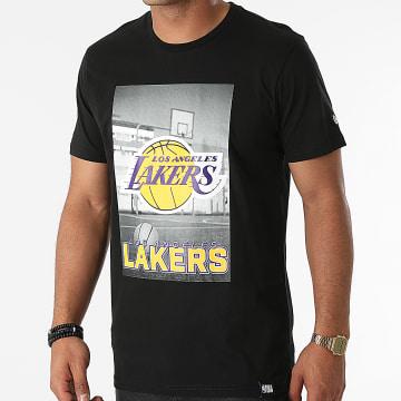 New Era - Tee Shirt Los Angeles Lakers 12827208 Noir