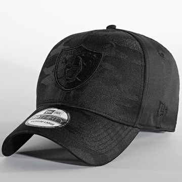 New Era - Casquette Fitted 39Thirty Black Camo 60141487 Raiders Noir