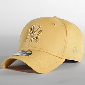 New Era - Casquette Fitted 39Thirty League Essential 60141654 New York Yankees Jaune