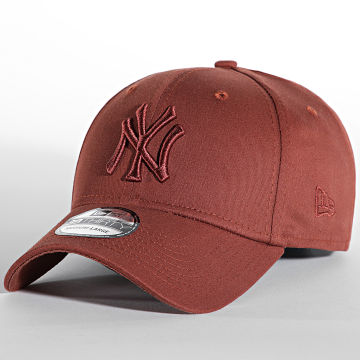 New Era - Casquette Fitted 39Thirty League Essential 60141655 New York Yankees Marron