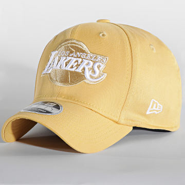 New Era - Casquette 9Fifty Stretch Snap League Essential 60141678 Los Angeles Lakers Jaune
