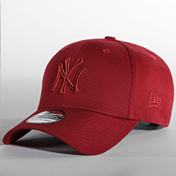New Era - Casquette Fitted 39Thirty League Essential 60141804 New York Yankees Rouge