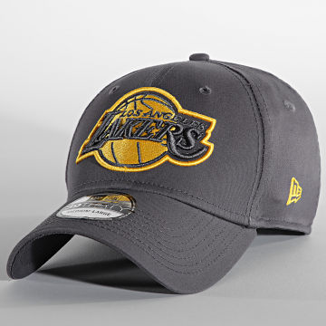 New Era - Casquette Fitted 39Thirty Gray Pop 60141841 Los Angeles Lakers Gris Anthracite