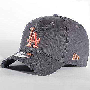 New Era - Casquette 9Forty League Essential 60141857 Los Angeles Dodgers Gris Anthracite