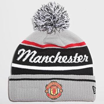 New Era - Bonnet Wordmark Bobble Cuff 60143393 Manchester United Gris