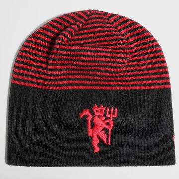 New Era - Bonnet Stripe Skull 60143394 Manchester United Noir Rouge