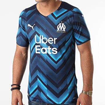 Puma - Tee Shirt De Sport OM Away Authentic 759283 Bleu Marine