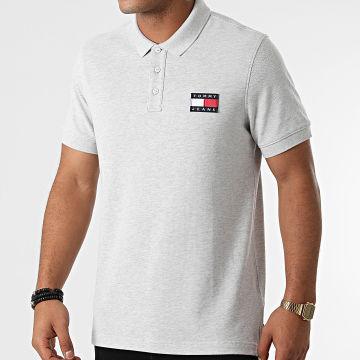 Tommy Jeans - Polo Manches Courtes 9444 Gris Chiné