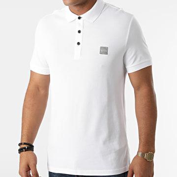 BOSS - Polo Manches Courtes 50462781 Blanc