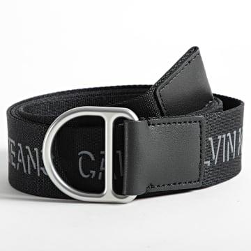 Calvin Klein - Ceinture Slider D-Ring Webbing 7245 Noir