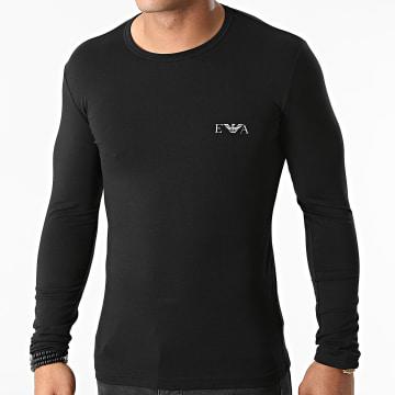 Emporio Armani - Tee Shirt Manches Longues 111023-1A715 Noir