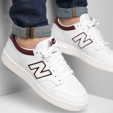 New Balance - Baskets 480 BB480LDB White Burgundy