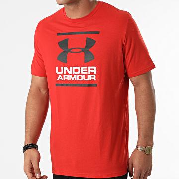 Under Armour - Tee Shirt UA GL Foundation 1326849 Rouge Brique