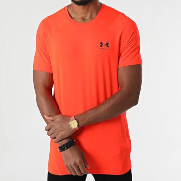 Under Armour - Tee Shirt Compression 1361683 Orange Fluo