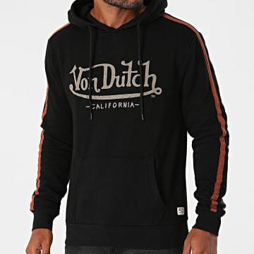 Von Dutch - Sweat Capuche A Bandes VD-C3-1-MAC-NR Noir