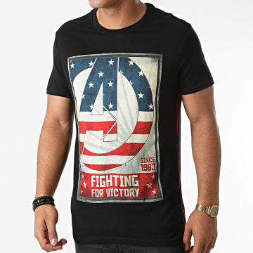 Avengers - Tee Shirt For Victory Noir