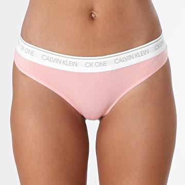 Calvin Klein - Culotte Femme QF5733E Rose